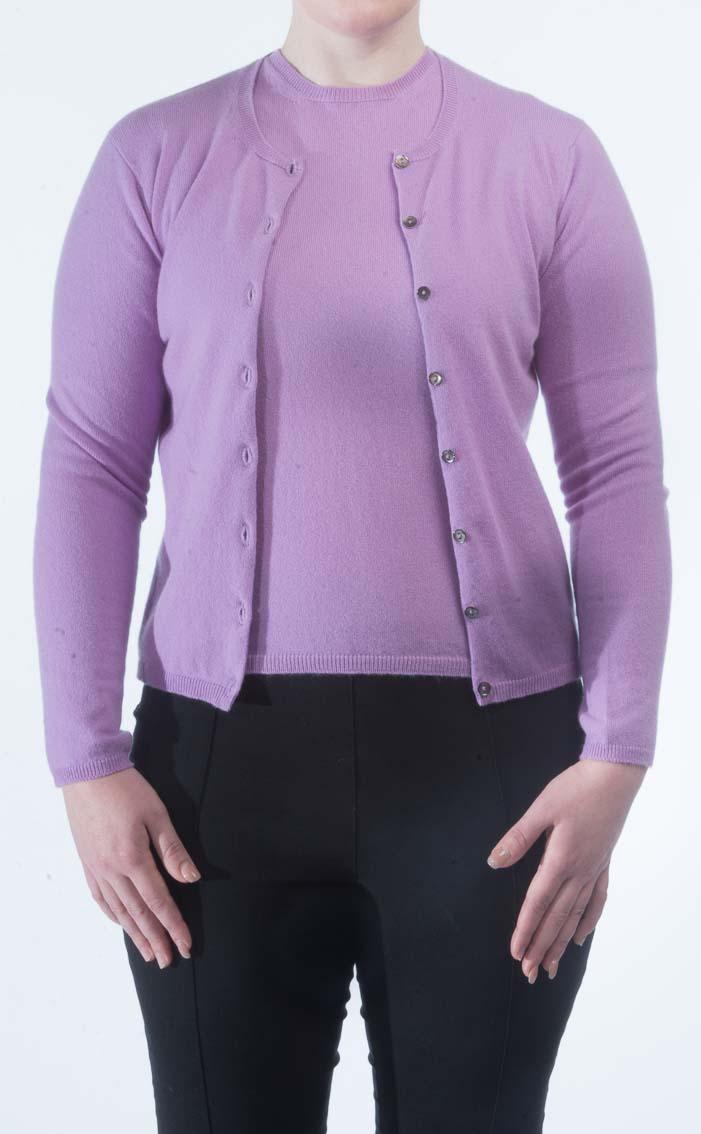William Lockie Knitwear. Ladies Scottish Cashmere Charlotte Twin Set 4abe54d92