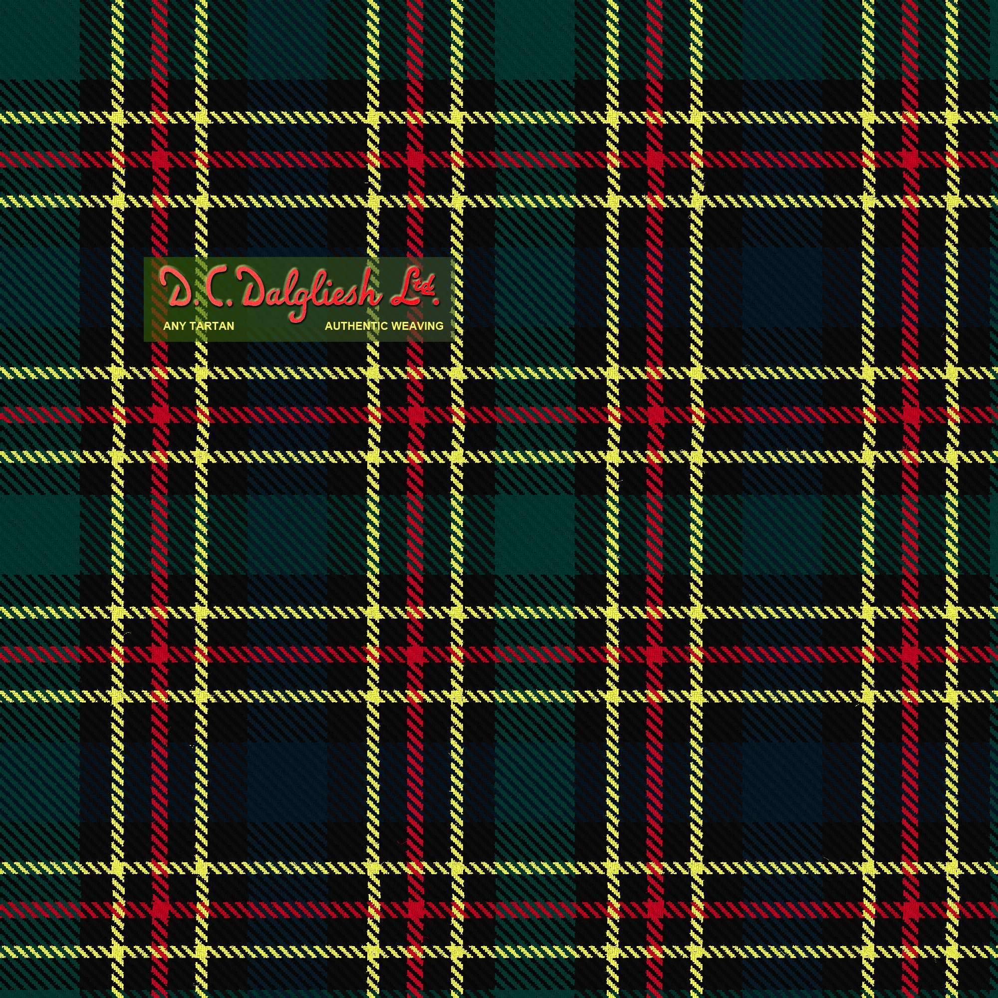 Scottish Tartan Society Modern Colours