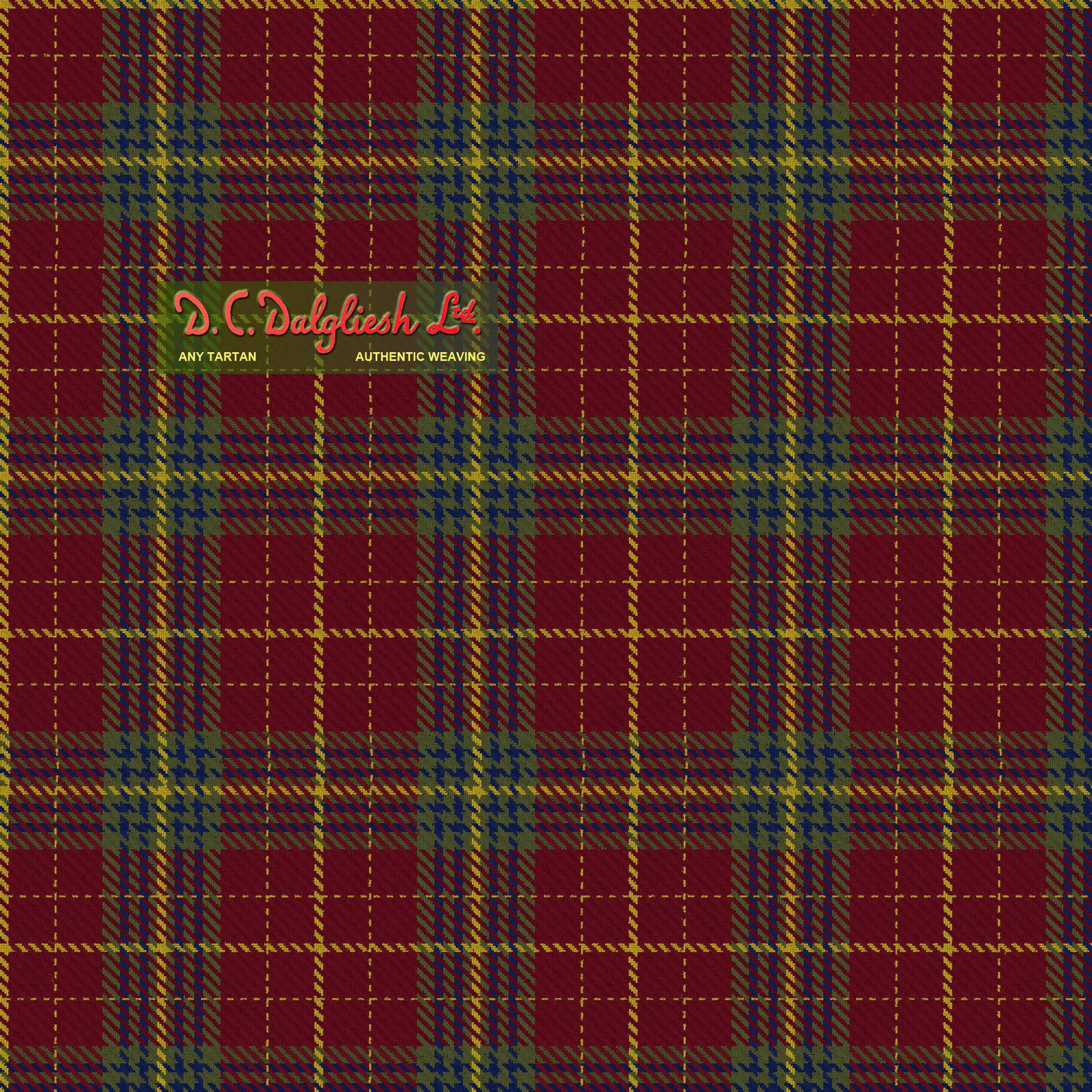 Price fabric by DC Dalgliesh - Hand Crafted Tartans