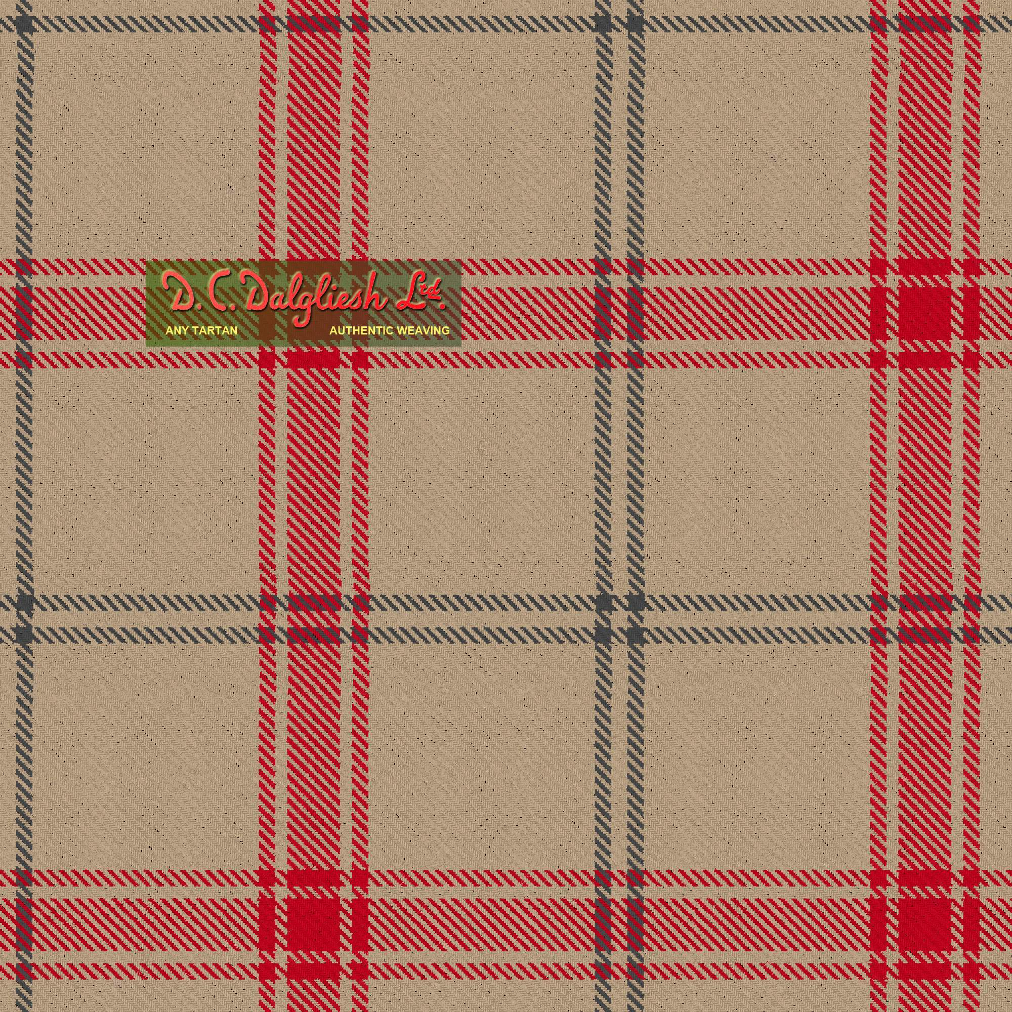 Auchairne Grey Fabric By Dc Dalgliesh Hand Crafted Tartans