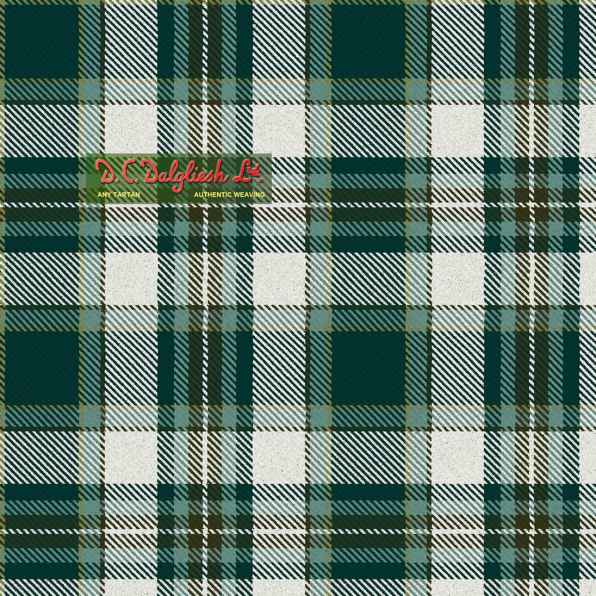 Drummond Of Perth Dress Green Dance Colours Tartan