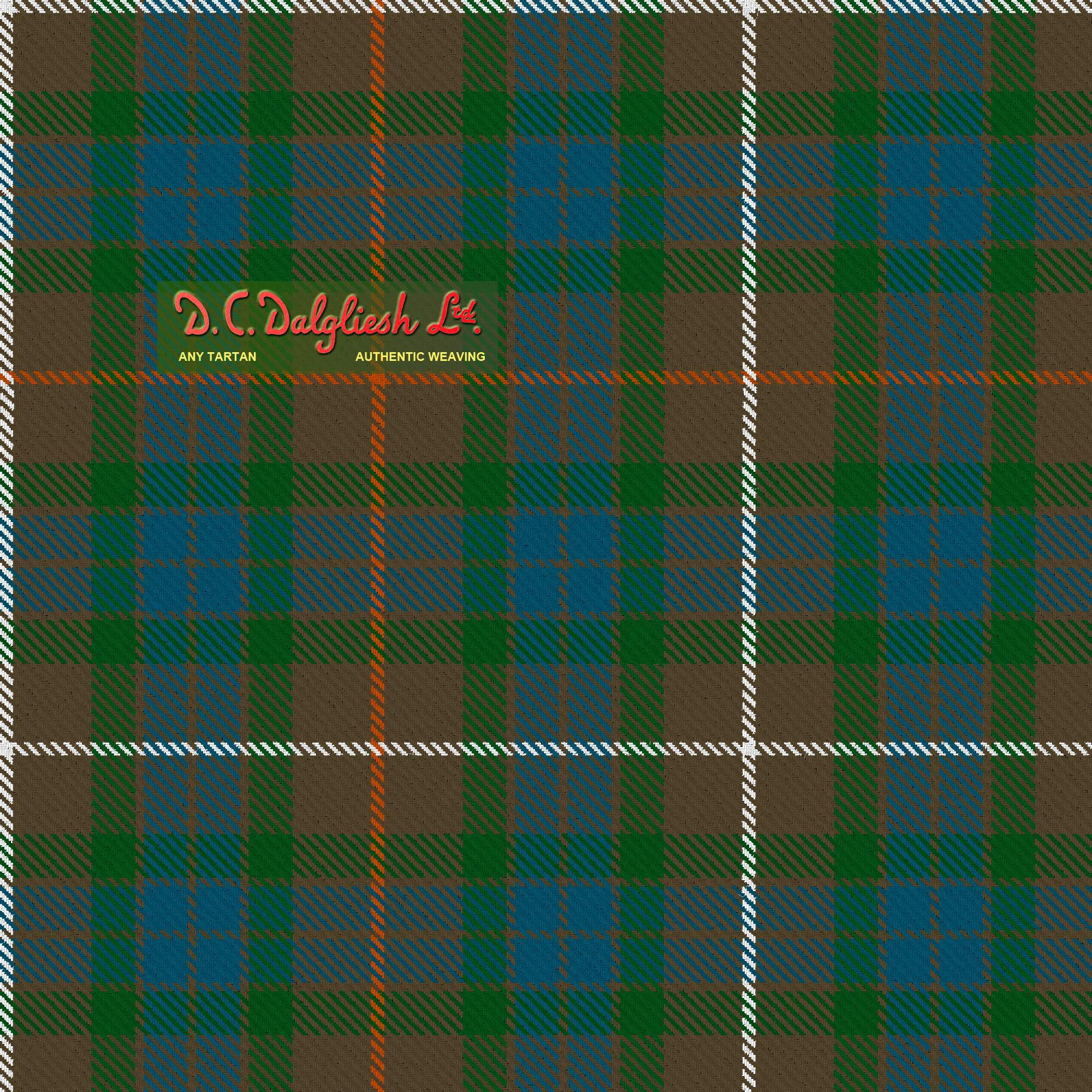 Fraser Hunting Fabric By Dc Dalgliesh Hand Crafted Tartans