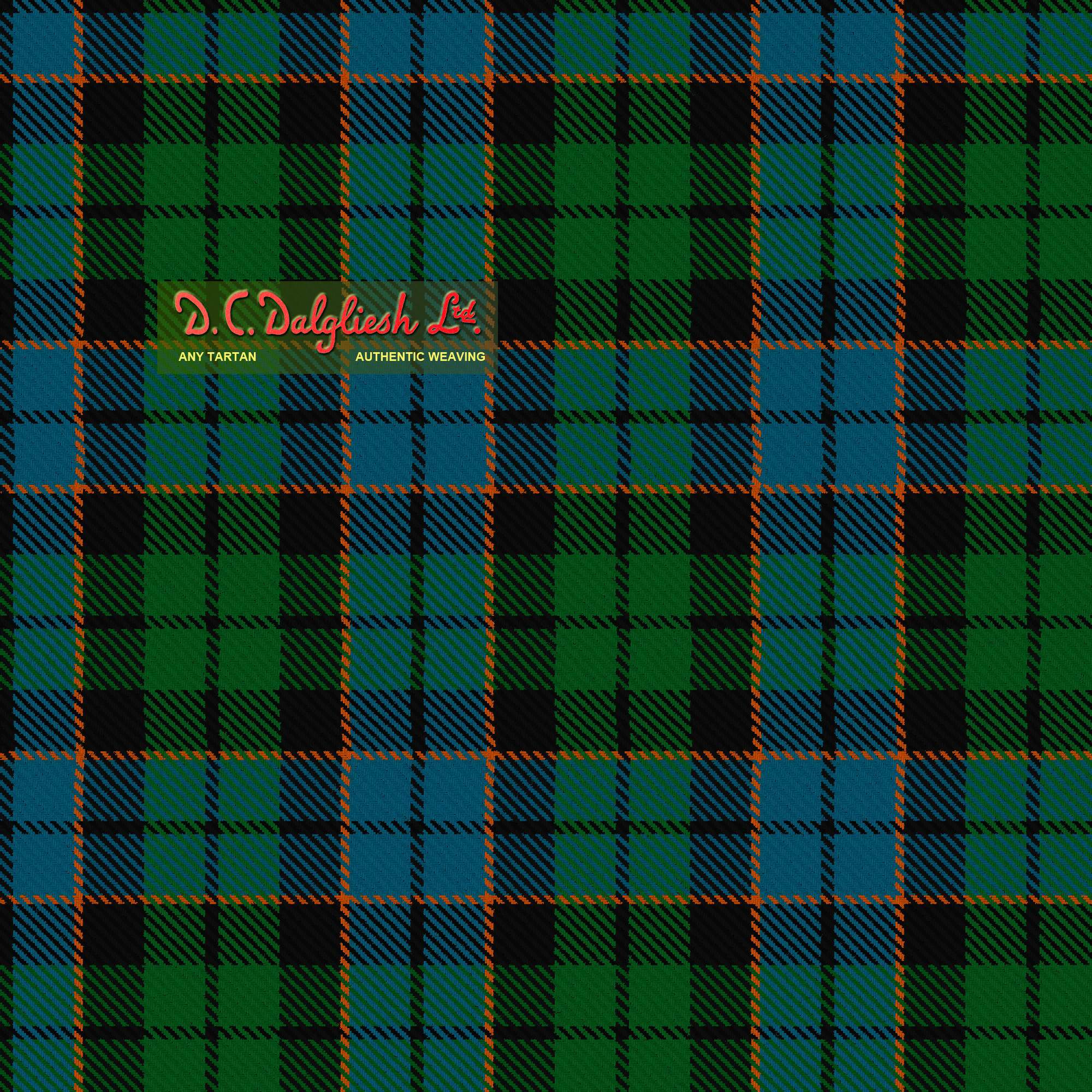 Gallamore Fabric By Dc Dalgliesh Hand Crafted Tartans