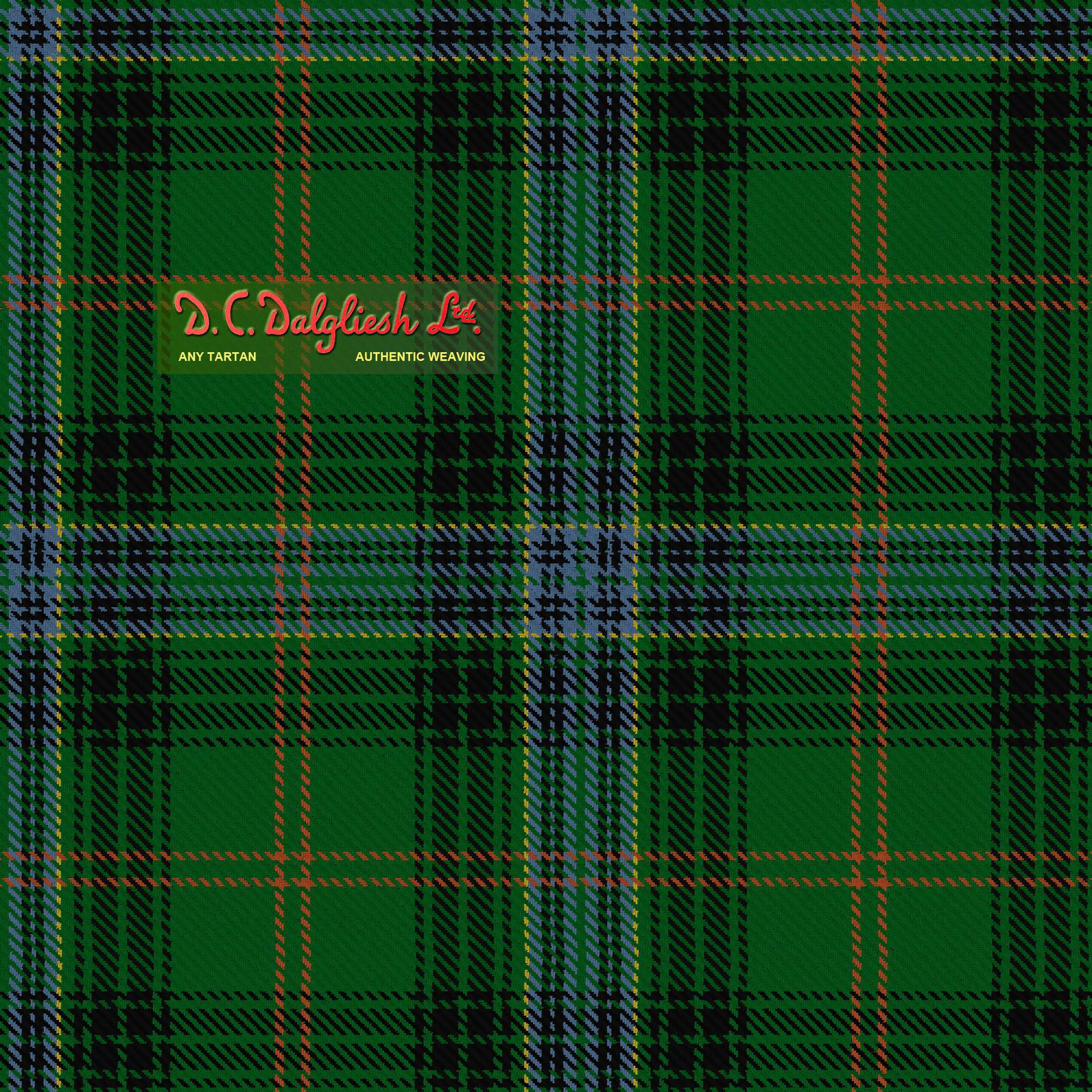 Hyslop Fabric By Dc Dalgliesh Hand Crafted Tartans
