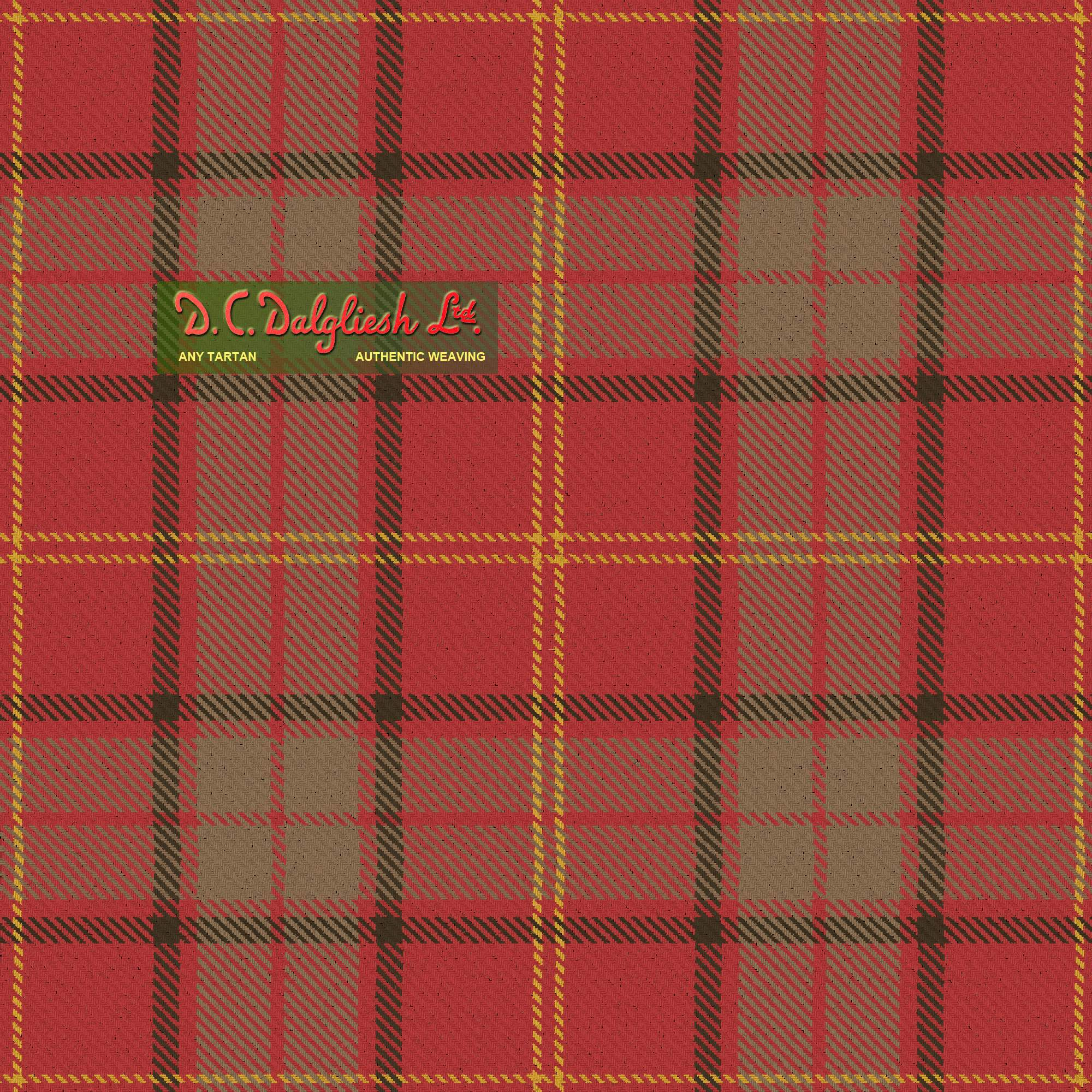 Kirk Fabric By Dc Dalgliesh Hand Crafted Tartans