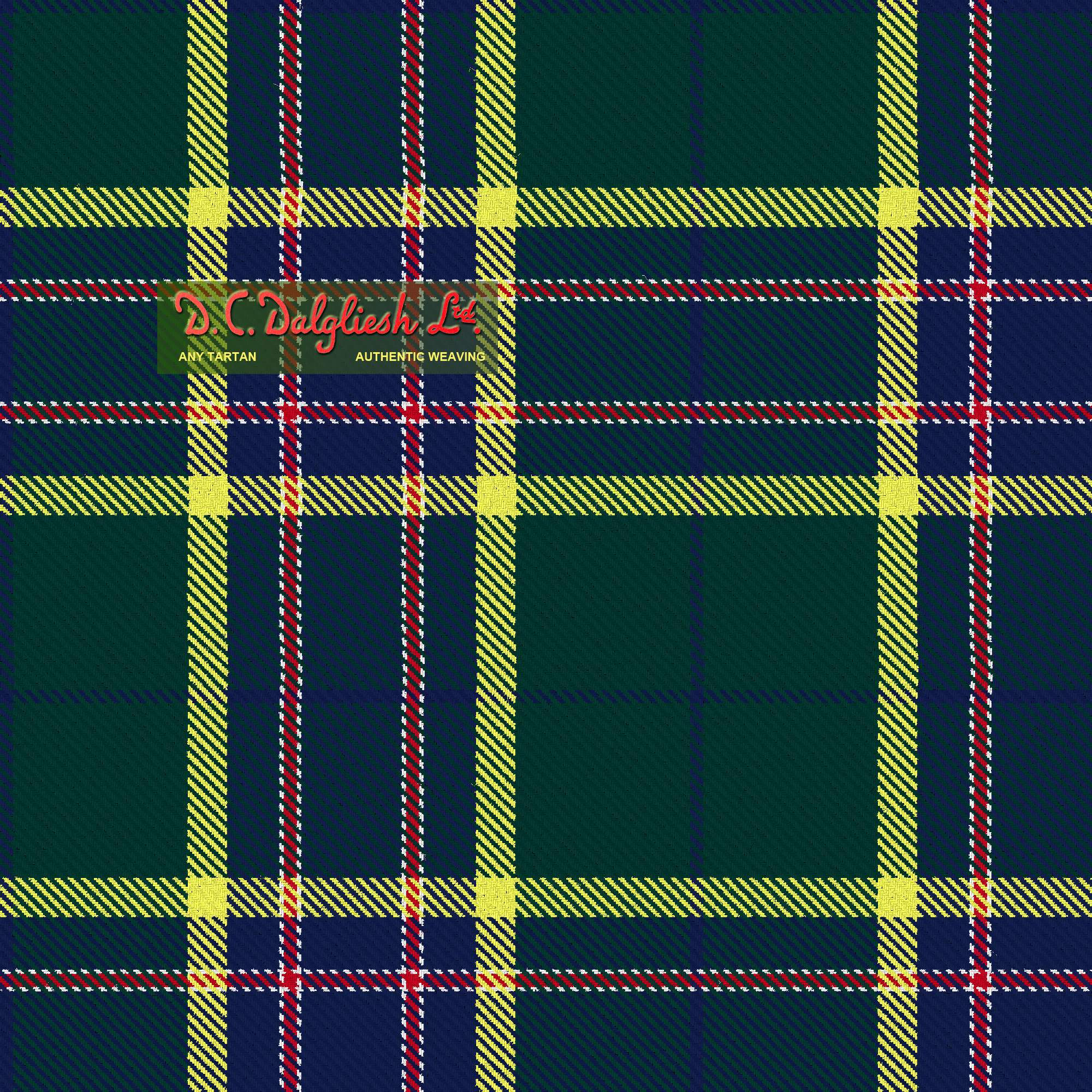 Pictou County Fabric By Dc Dalgliesh Hand Crafted Tartans