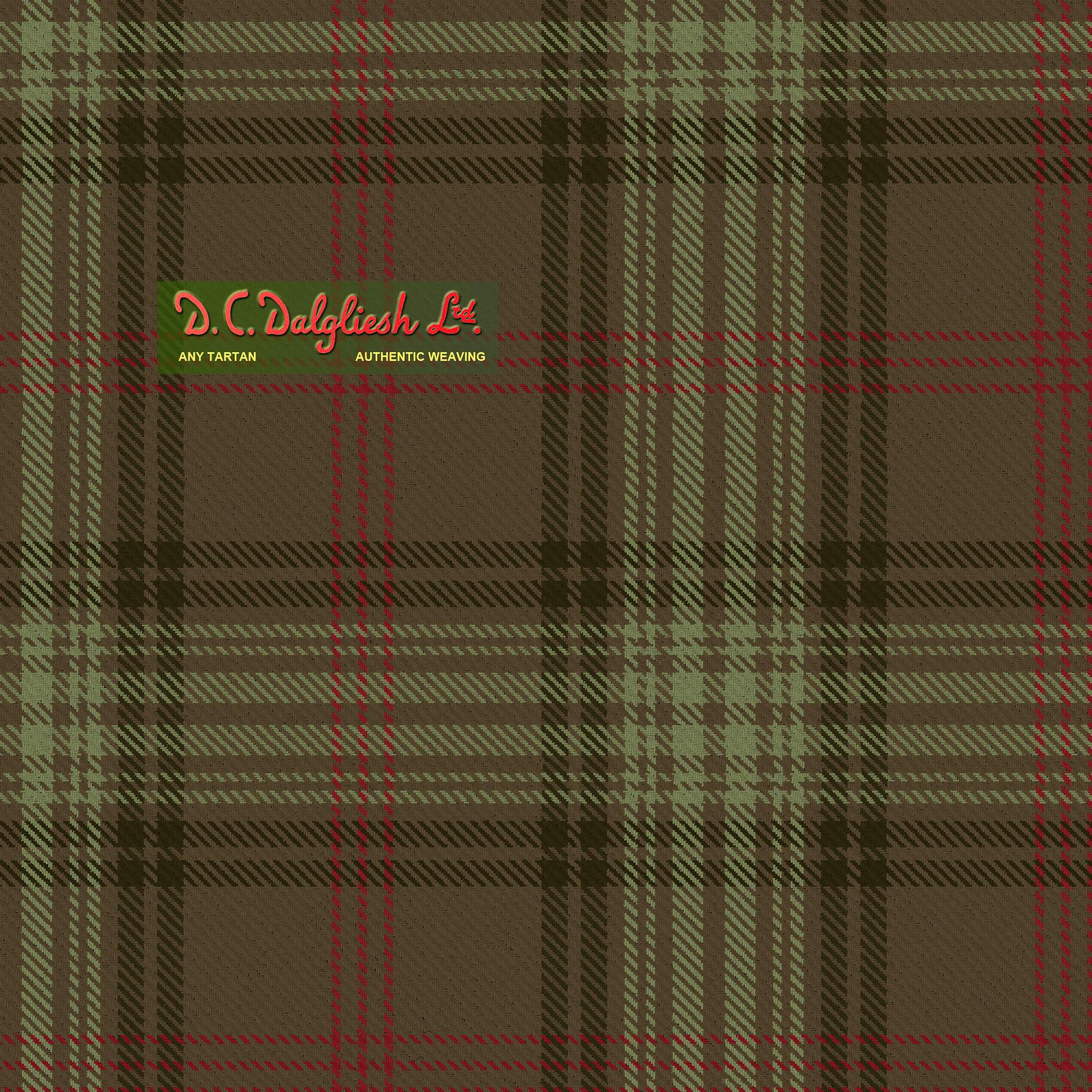 Ross Hunting Fabric By Dc Dalgliesh Hand Crafted Tartans