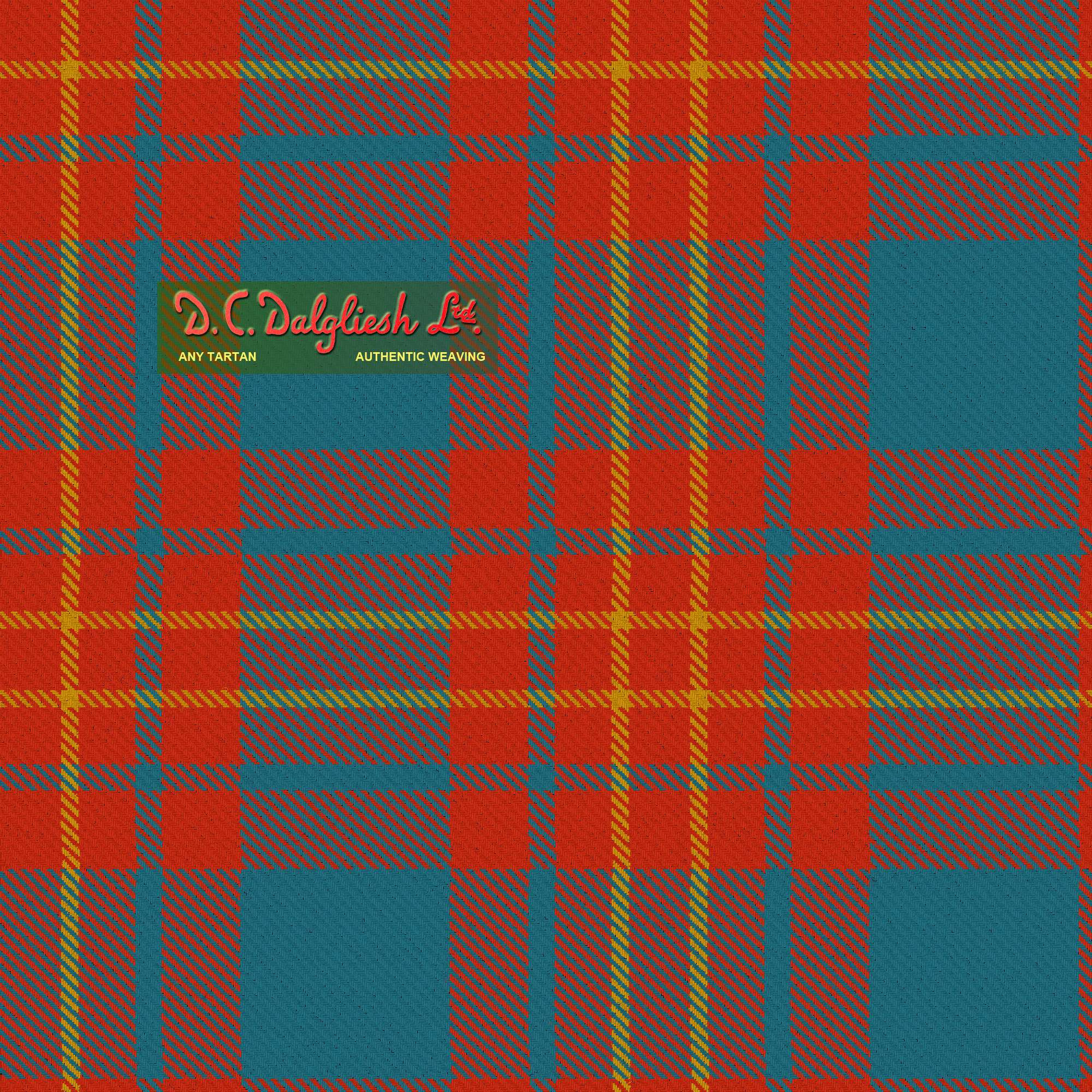 Butler Clan Or Family Ancient Colours Tartan