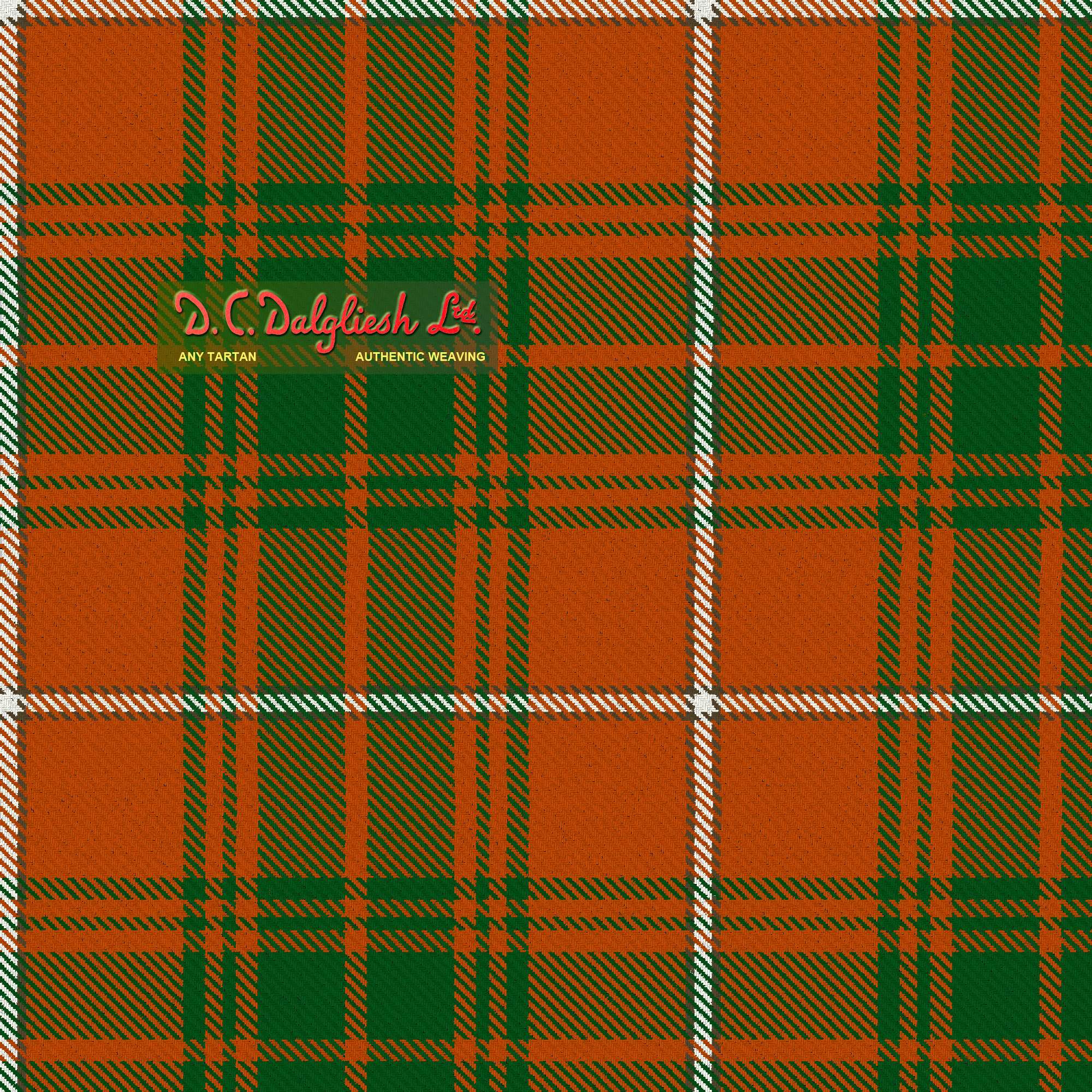 Baluch Regiment Fabric By Dc Dalgliesh Hand Crafted Tartans