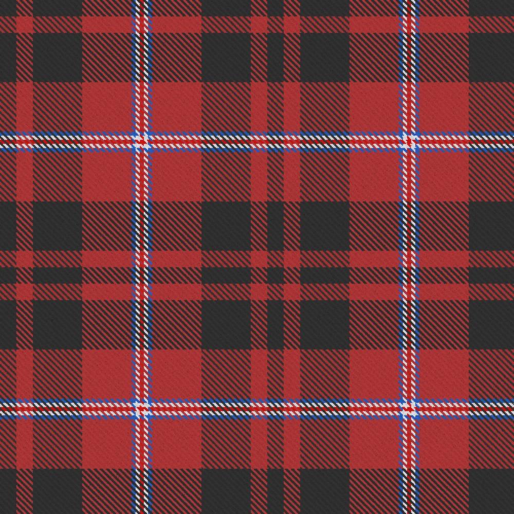 Member\'s design USA Orr Clan Tartan fabric by DC Dalgliesh - Hand ...