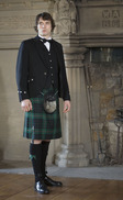Classic Argyll Kilt Outfit with Luxury accessories