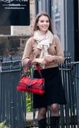 'Box Shoulder' Handbag