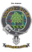 Clan Crest Cross Stitch Kit