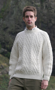 529303ff5 Aran Sweaters. 5 Products. Traditional Hand Knitters. Gents Hand Knitted  Luxury ...
