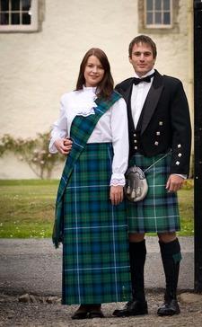 What do Scottish women wear?