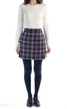 Short Tartan Mini Skirt | Jill Dress