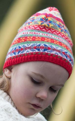 Child's Fair Isle Hat