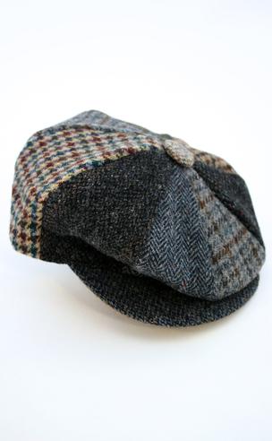 Harris Tweed Eight Piece Cap