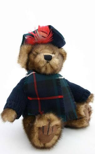 Hamish The Teddy Bear - Old Look