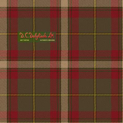 Cozumel (Reproduction Colours) Tartan