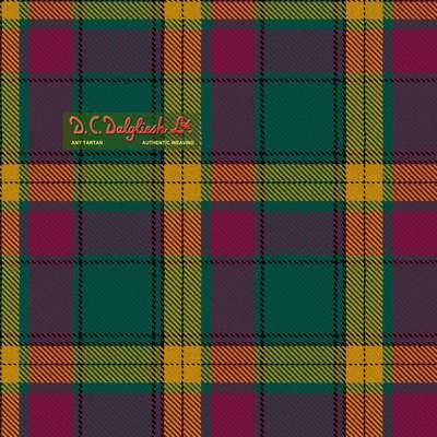 MacMillan Anc Clans Originaux (Modern Colours) Tartan