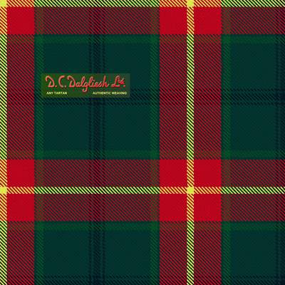 Manitoba Province Provincial (Modern Colours) Tartan