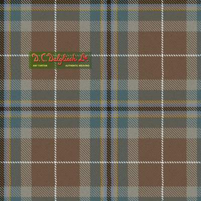 Teviotdale District (Reproduction Colours) Tartan