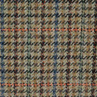 Bowhill Houndstooth Brown Tweed