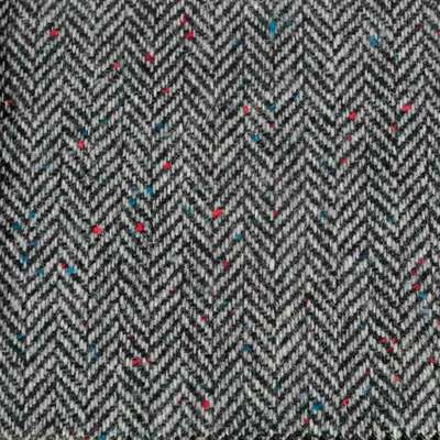 Bowhill Herringbone Grey Tweed