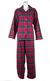 Ladies Tartan Brushed Cotton Pyjamas