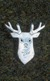 Silver Scottish Stag Brooch