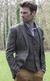 Grey Harris Tweed Jacket