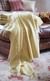 Luxury Cashmere Throw, Merchiston Field Yellow plaid