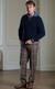 Gents Luxury Tartan Trousers, turned up