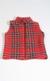 Child's Tartan Fleece Waistcoat