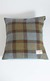 Harris Tweed and Velvet Square Cushion