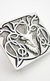 Celtic Stag Belt Buckle