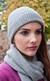 Ladies Knitted Luxury Scottish Cashmere Hat
