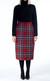 Straight Tartan Skirt