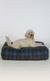 Tartan Rectangular Dog Bed