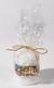 Handmade Christmas Candle: Sleigh