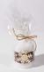 Handmade Christmas Candle: Snowflake (Style One)